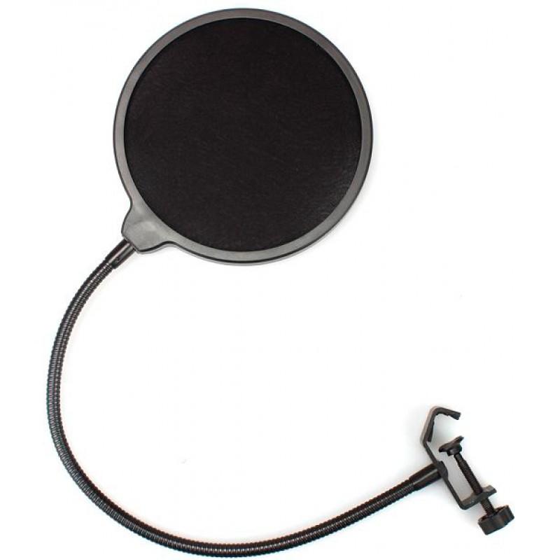 Поп-фильтр для микрофона Maono AU-B00 (Black)