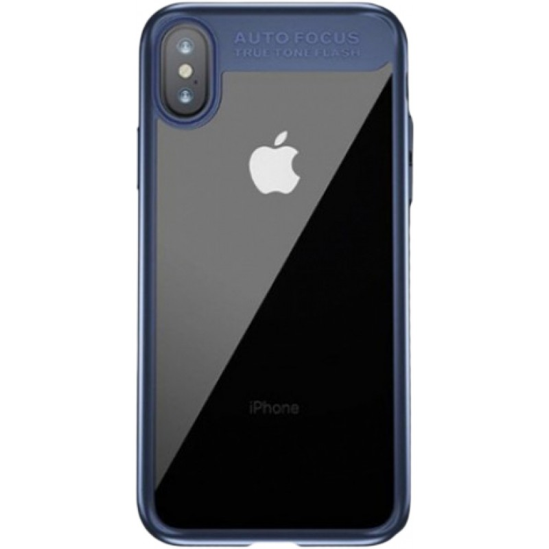 Чехол Baseus Suthin (ARAPIPHX-SB15) для Apple iPhone X (Dark Blue)