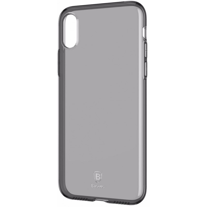 Чехол Baseus Simplicity Series (ARAPIPH65-B01) для iPhone Xs Max (Transparent Black)