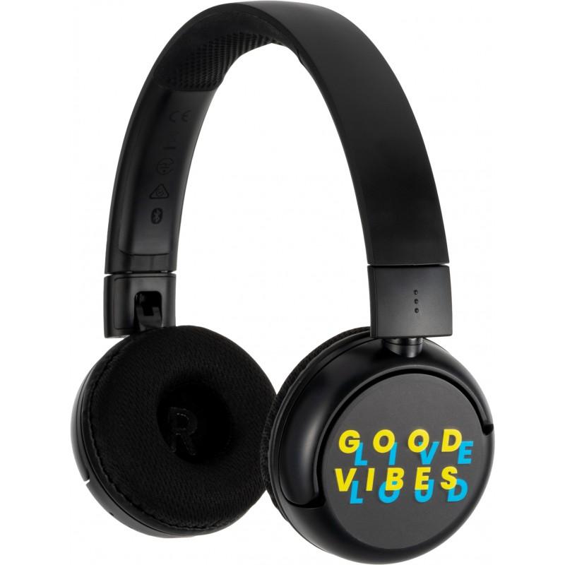 Детские Bluetooth-наушники с микрофоном BuddyPhones POP (Black)