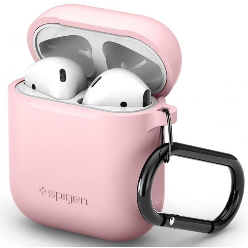 Чехол Spigen Silicone Case (066CS24810) для AirPods (Pink)