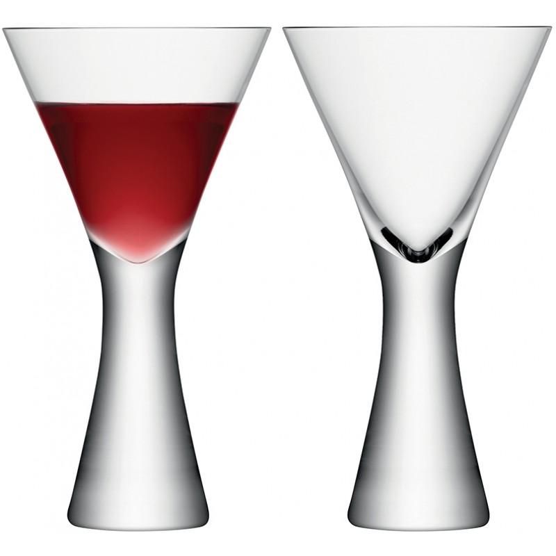 Набор из 2 бокалов для вина LSA International Moya 395 мл прозрачный