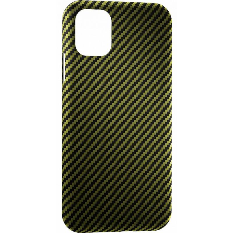 Чехол Annet Mancini Carbon Series (AM-11PRO-K-GR) для iPhone 11 Pro (Green Matte)