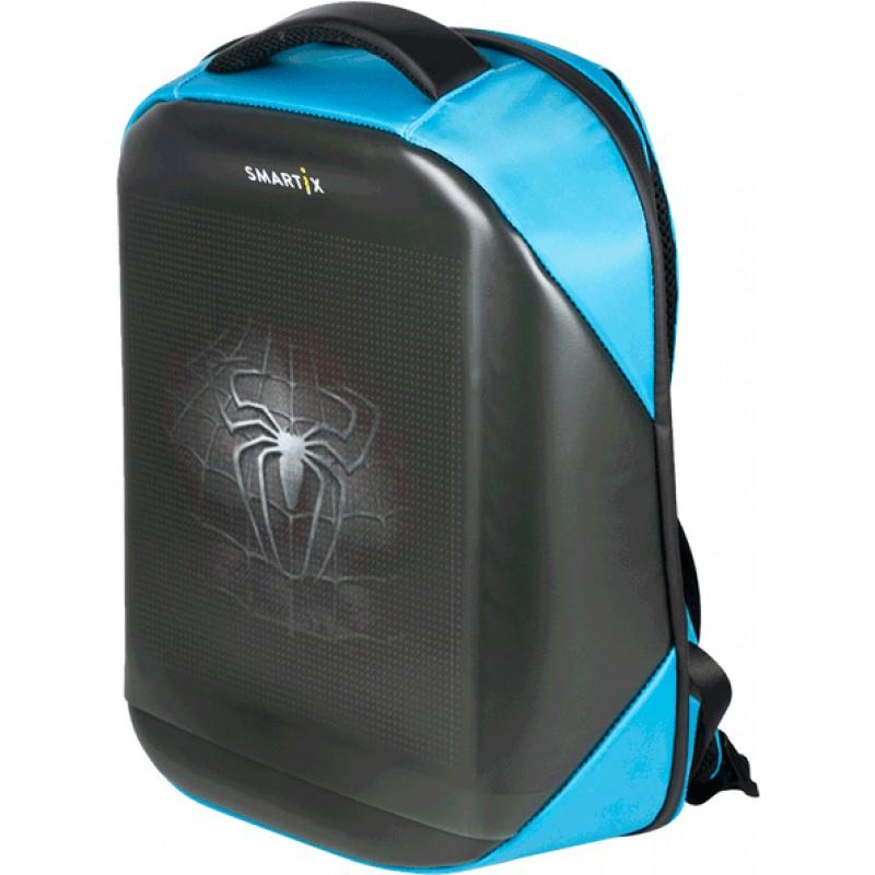 Рюкзак с экраном Smartix LED 4S Plus (SM0010041013) PowerBank 10000 mAh (Blue)