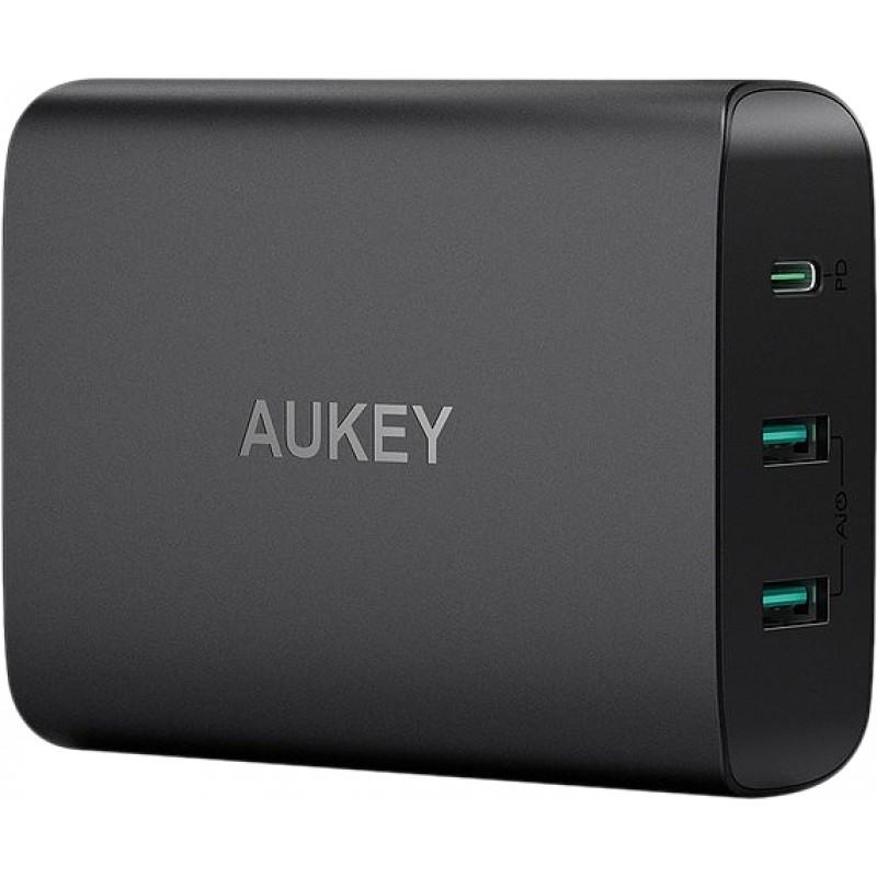 Сетевое зарядное устройство Aukey PA-Y12 (Black)