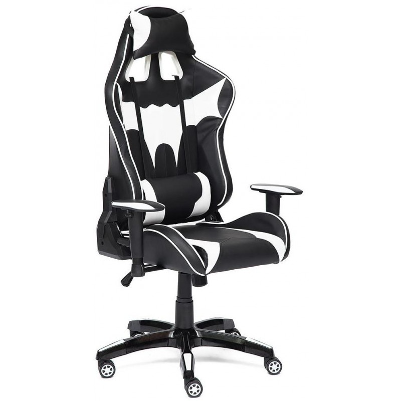 Игровое кресло Tetchair iBat (Black/White)