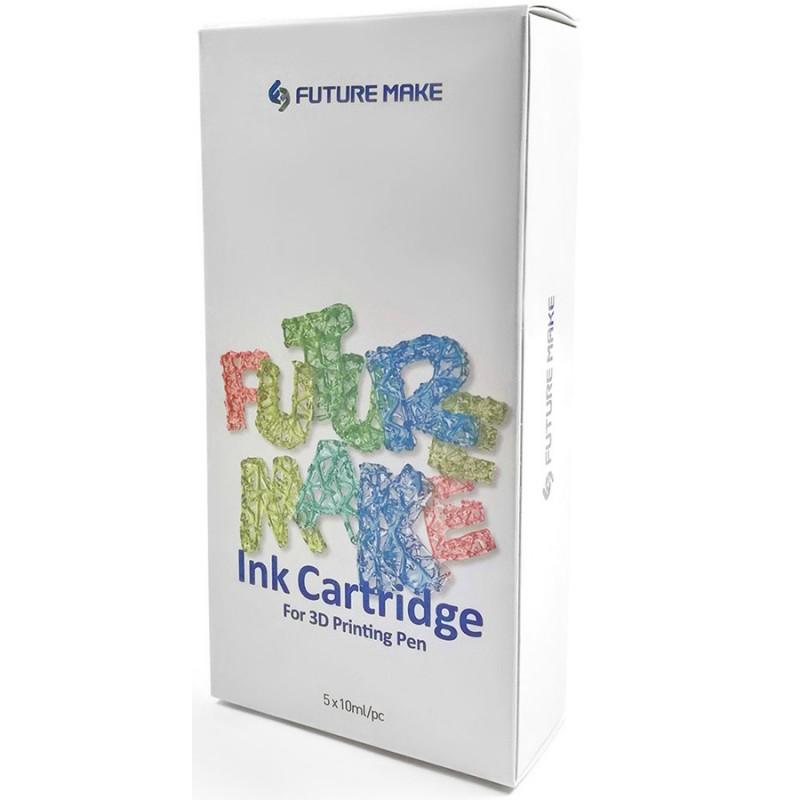 Картриджи Polyes PS Mix B (PSMXB) для 3D-ручки 5 цветов
