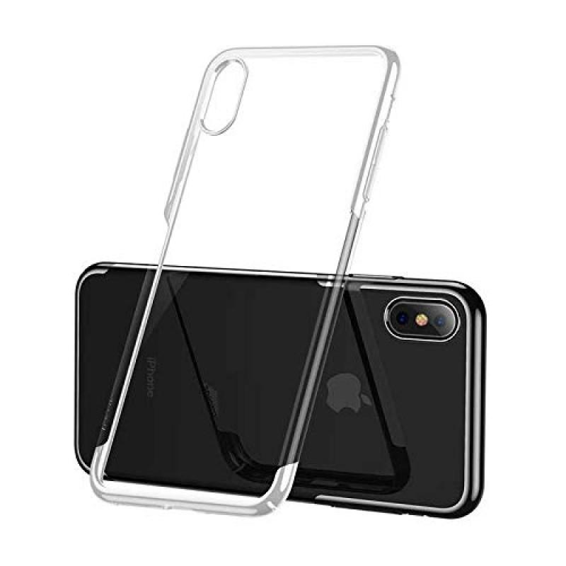 Чехол Baseus Glitter Case (WIAPIPH65-DW02) для iPhone Xs Max (White)